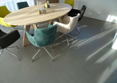 betonlook gietvloer Zeeland