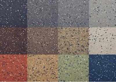 Epoxy troffelvloer mix kleuren | Van Tol Vloeren Uden