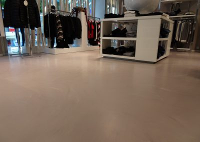 Gietvloer in kledingwinkel HIP&TOF Beuningen - Nijmegen