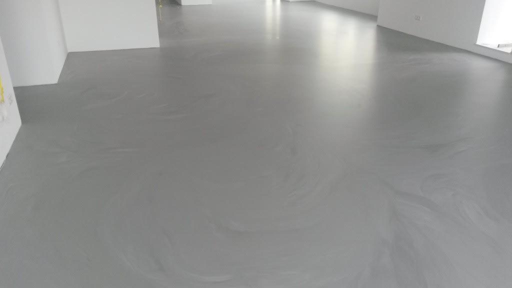 Polyurethaan betonlook gietvloer Deurn