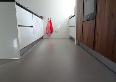 PU Betonlook gietvloer woonhuis Nijmegen – Lent