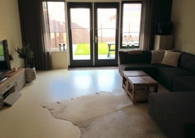 PU gietvloer woonhuis Boxmeer