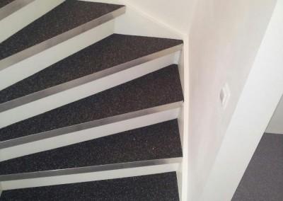 Siergrindvloer inclusief trap Eindhoven