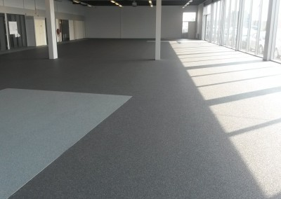 Siergrindvloer showroom in Den Bosch