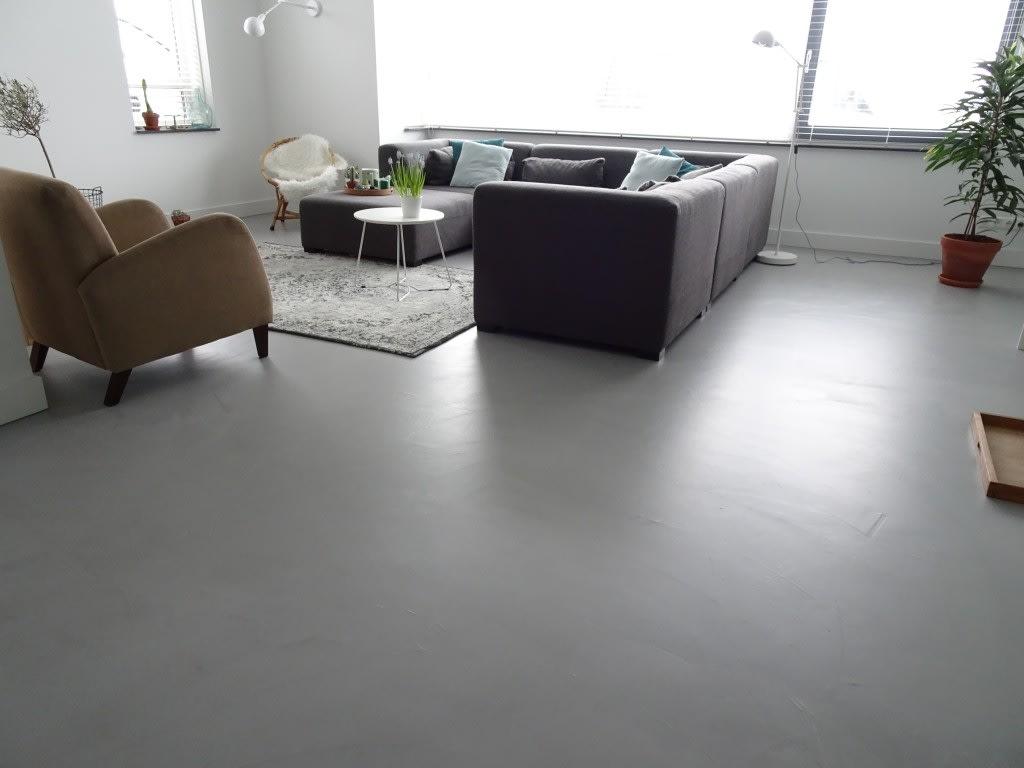 Cementgebonden gietvloer Nuenen 4 | Van Tol Vloeren
