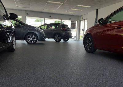 Siergrindvloer Maarssen Autobedrijf Lugtenburg