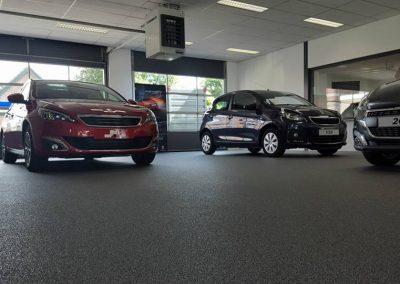 Siergrindvloer Utrecht Maarssen Autobedrijf Lugtenburg