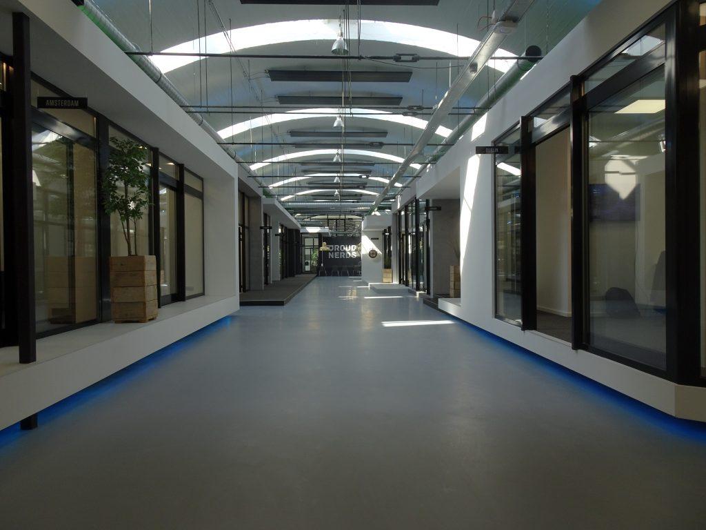 PU gietvloer Splendor fabriek Nijmegen 2