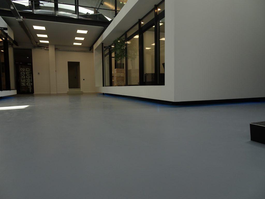 PU gietvloer Splendor fabriek Nijmegen 1