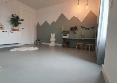 PU gietvloer Zeeland - slaapkamer