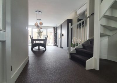Siergrindvloer Uden - woonkamer - Van Tol Vloeren