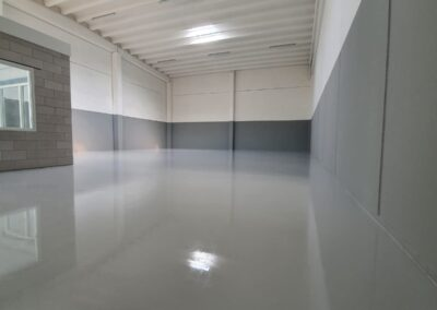 Coatingvloer bedrijfshal Den Bosch